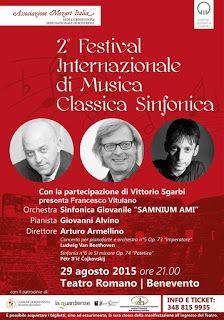 PALCOSCENICO IN CAMPANIA.it: MUSICA - Attesa per il II Festival Internazionale ...