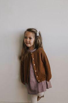 c7d2b6e54 Simple Cardigan - Bronze. Moda Para NiñasFotografía InfantilVestidos ...
