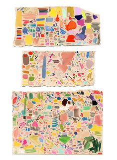 Art idea for kids: Make lots of marks! (Mia Christopher's)