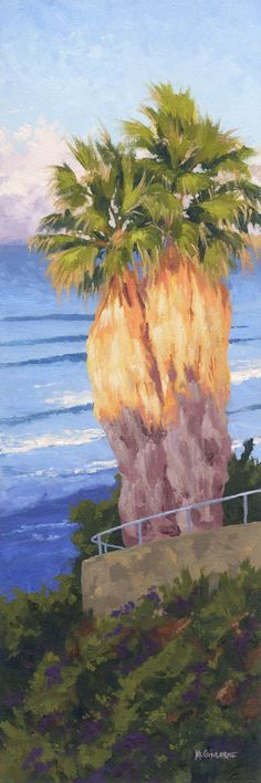 Morning light at Swami's in Encinitas, California. Oil on Linen  Jim@JimMcConlogue.com for more information Encinitas California, Morning Light, Limited Edition Prints, Bohemian Decor, Art Oil, Vintage Posters, Giclee Print, Surfing, Fine Art