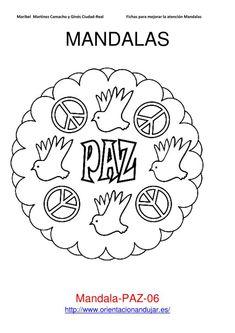 Coloreamos mandalas 30 Enero día de la paz 2013 | Orientacion AndujarOrientacion Andujar