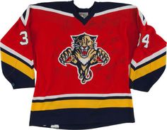 Mid 1990's Florida Panthers Team Jersey