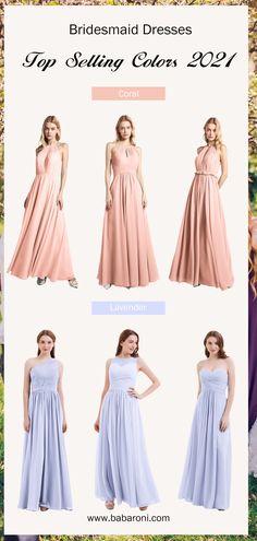 Casual and vintage elegance, as well as a freeform design, come together in this lux chiffon maxi dress Blanche. Its modified halter-style neckline with a sexy keyhole looks gorgeous. The special and stunning back reflects a bit of mid-century retro design, adding a character-rich ambiance. Come and visit babaroni.com, choose from 66+ colors & 500+ styles. #bridesmaiddresses#wedding#babaroni #weddingideas
