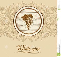 bunch-grapes-labels-wine-ceg-barrel-cas-bottle-cask-35507852.jpg (1381×1300)