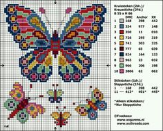 Thrilling Designing Your Own Cross Stitch Embroidery Patterns Ideas. Exhilarating Designing Your Own Cross Stitch Embroidery Patterns Ideas. Butterfly Cross Stitch, Cross Stitch Bird, Cross Stitch Animals, Cross Stitch Flowers, Counted Cross Stitch Patterns, Cross Stitch Charts, Cross Stitch Designs, Cross Stitching, Cross Stitch Embroidery
