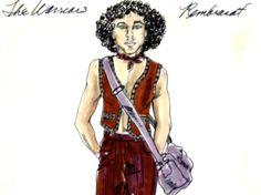 Original costume design for Rembrandt by Bobbie Mannix and Mary Ellen Winston