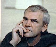 Milan Kundera portrait
