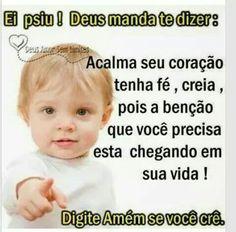 Amem, Senhor!!!