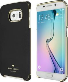 kate spade new york Wrap Case for Samsung Galaxy S 6 Edge - Black | Verizon Wireless