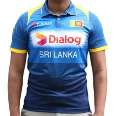 Sri Lanka Cricket Team Official Replica T Shirt jersey 2017 from MAS. This is the official and the original Sri Lanka Cricket Team Replica T-Shirt. Maori All Blacks, Cricket T Shirt, France Rugby, New Zealand Rugby, Team T Shirts, Jersey Shirt, Sri Lanka, Nike Men, Mens Tops