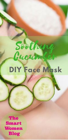 Soothing Cucumber Face Mask Source by Best Peel Off Mask, Cucumber Face Mask, Cucumber Beauty, Face Scrub Homemade, Homemade Moisturizer, Healthy Beauty, Healthy Skin, Face Skin Care, Diy Face Mask