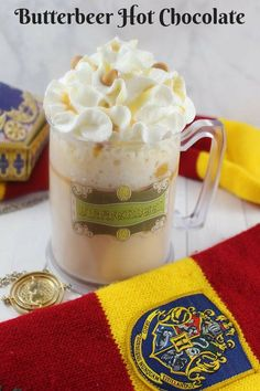 I love Harry Potter. It is one of my favorite movies, and the books are amazing. Harry Potter has inspired so much yummy ideas for my kids treats when they were younger. Every time we visit The Wizarding World of Harry Potter, in Universal Studios Hollywood, we always stop for Frozen Butterbeer. It is a… Continue reading Butterbeer Hot Chocolate