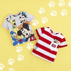 PrimarkXDisney Mickey Mouse and the gang are going to make those summer days even brighter with these adorable Disney shirts! Boys Summer Outfits, Summer Boy, Baby Boy Outfits, Kids Outfits, Disney Baby Clothes, Disney Outfits, Baby Disney, Mickey Mouse Outfit, Mickey Y Minnie