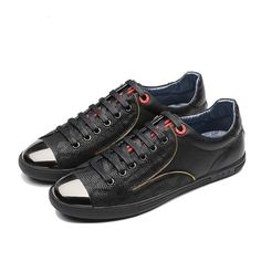 Zipper - Leather sneakers by OPP France  #shoes #trendy #leather #italianshoes #classy #ankleboots #runit365 #italianbrand #madeinitaly