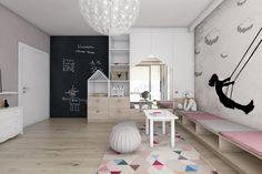 BAGUA Pracownia Architektury Wnętrz - Pokoje dziecięce