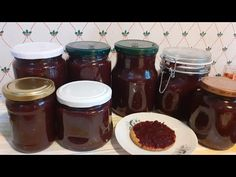 Magiun de Prune SILVOIZ la CUPTOR-Reteta simpla de SILVOIZ din Ardeal- Traditional Plums jam in Oven - YouTube Plum Jam, Food Stations, Chocolate Fondue, Preserves, Oven, Make It Yourself, Pickles, Desserts, Drinks