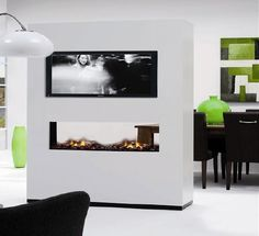 Handy Fireplaces: Bio-Ethanol Fireplace Ruby Fires, No Chimney Needed! #Uw Woonmagazine