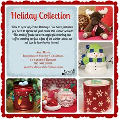 Gear up for the Holidays with Scentsy! www.gonewickless.net