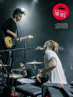 They can totally rock out together. | Community Post: 19 Things You Should Know About The 1975