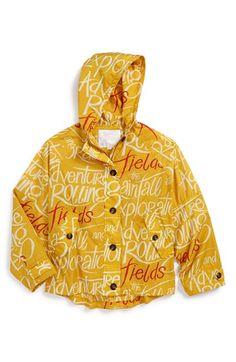 Burberry Waterproof Hooded Jacket (Little Girls & Big Girls) | Nordstrom