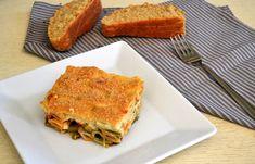 «Παστίτσιο» με λαχανικά - cretangastronomy.gr Main Menu, Lasagna, Sandwiches, Vegan Recipes, Pasta, Ethnic Recipes, Food, Vegane Rezepte, Essen
