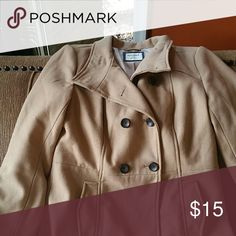 Camel peacoat Old navy camel colored double breasted pea coat. Old Navy Jackets & Coats Pea Coats