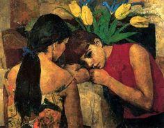 Josep Maria Mallol Suazo ( peintre Espagnol ) 1910 1986