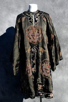 Dragon chinois antique robe interdit maille soie par thekaliman