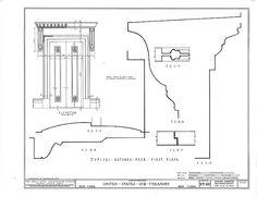 U. S. Custom House, 28 Wall Street, New York, New York County, NY HABS NY,31-NEYO,53- (sheet 12 of 15).tif