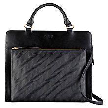Buy Radley Clerkenwell Leather Multiway Bag, Black Online at johnlewis.com
