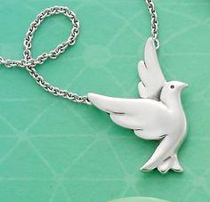 Summer Collection - Bird in Flight Necklace #JamesAvery