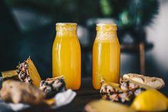 Pineapple Ginger & Lemon Juice