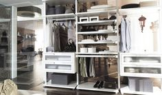 Shoes and Basics: Deco Stories: Dressing Room Inspiration