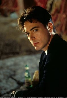 """young Robert Downey Jr...as if he's """"old"""" now...handsome as ever!!"""