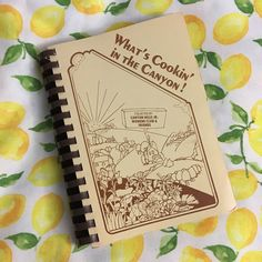 What's Cookin In The Canyon Vtg Canyon Hills Fundraiser Charity Cookbook 1970s  | eBay