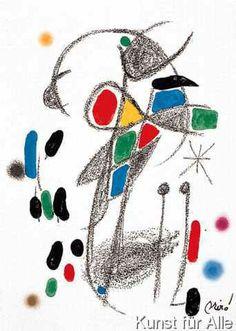 Joan Miró - Maravillas 18 steinsig.