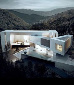 Modern architecture at its best 😍 Would you live in this amazing villa in San Antonio, Texas? Design by Creato Arquitectos Architecture Résidentielle, Amazing Architecture, Contemporary Architecture, Contemporary Houses, Sustainable Architecture, Contemporary Design, Beton Design, Modern Architects, Modern House Design