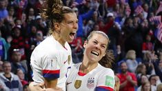 USA Women's Soccer Sets Another World Cup Goals Record In Win Vs. Sweden Female Football, Another World, World Cup, Sweden, Chef Jackets, Russia, Soccer, Goals, Sports