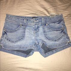 Guess shorts Blue jean guess shorts Guess Shorts Jean Shorts