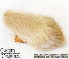 Fox tails. All shapes and sizes