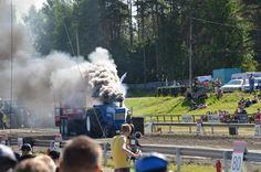 Tractor pulling, Alahärmä, Finland