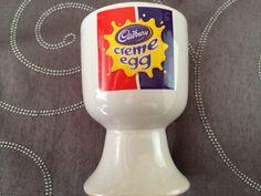 Cadbury  creme egg. Egg cup.