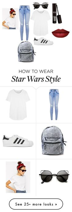"""""""Vintage Date"""" by skittles-0512 on Polyvore featuring adidas Originals, ASOS, Madewell and vintage"""