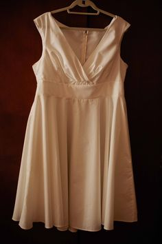 A short wedding dress from Etsy!