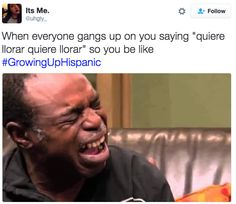 "31 Tweets About Growing Up ""Hispanic"" That Are Way Too Real Funny Spanish Jokes, Mexican Funny Memes, Mexican Humor, Spanish Humor, Stupid Funny Memes, Funny Relatable Memes, Funny Tweets, Funny Stuff, 9gag Funny"