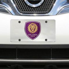 Orlando City SC Inlaid Acrylic License Plate - $17.99