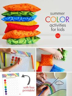 summer color activities for kids :: can't wait for a summer full of colorful fun!!   www.livecrafteat.com #spons