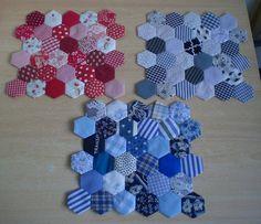Aurea´s Kitchen: Costura: Colcha de hexágonos de colores