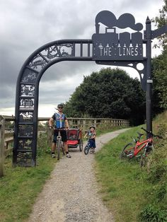 The Linesway disused railway cycle route, West Yorkshire