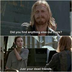Tell him, Rosita! I hate him.